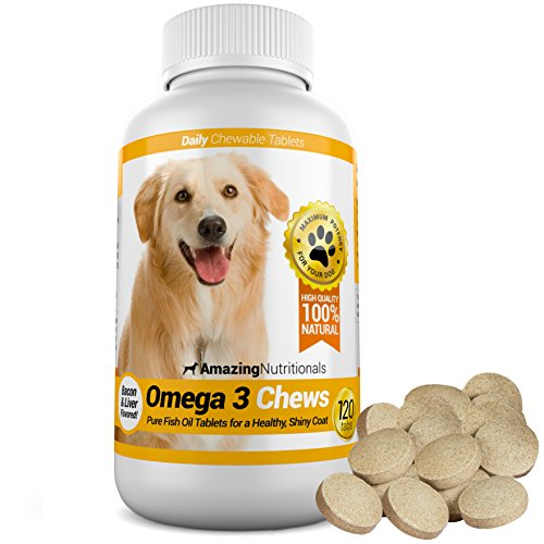 Amazing Nutritionals Omega-3 Fish Oil Chewable Tablets