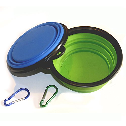 COMSUN Collapsible Travel Dog Bowl