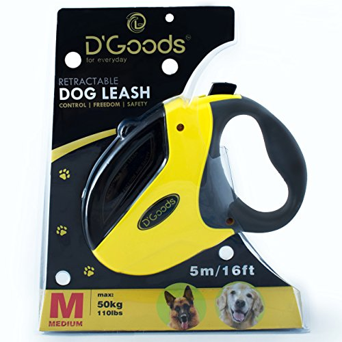 D'Goods Nylon retractable dog leash