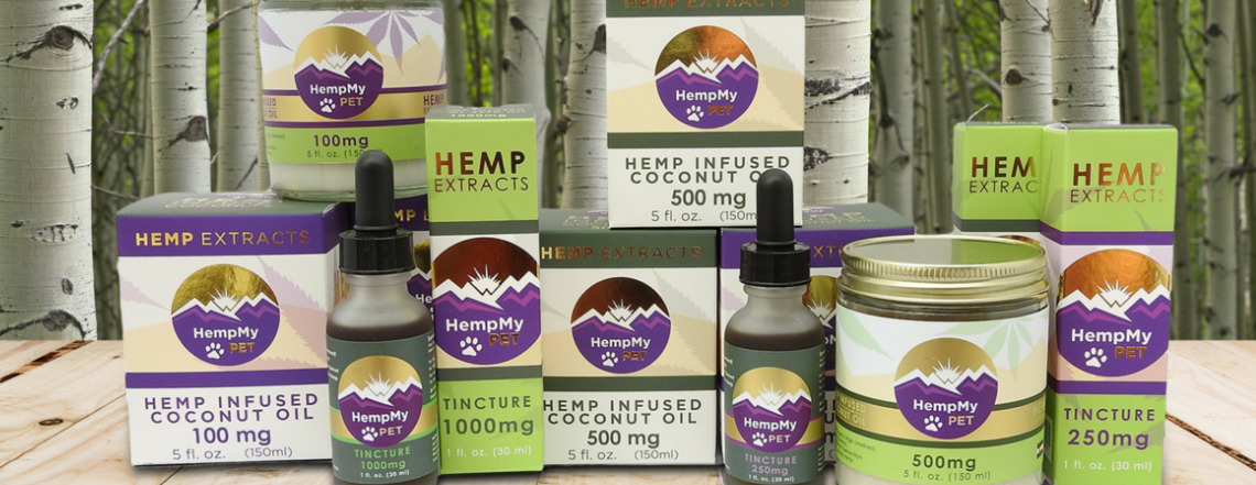 Hemp my pet CBD products